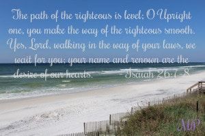 Mom's Priority verse of the day