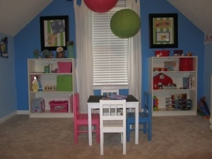 Playroom Organization Ideas from Mom's Priority