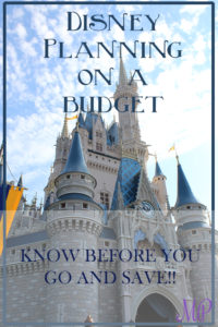 Disney World on a Budget
