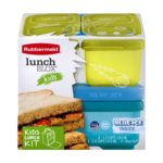 Rubbermaid lunch box kit for kids