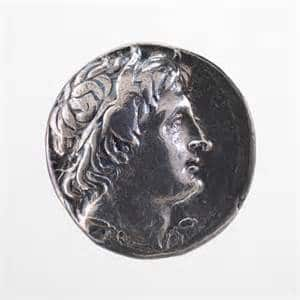 four drachma coin Mom's Priority