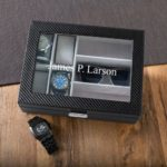 Gift for Dad ~ Personalized Watch and Sunglasses box