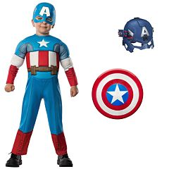 Kids Halloween Costumes Captain America