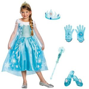 Elsa Halloween Girls Costume