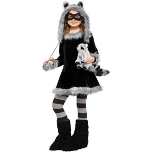 Raccoon Kids Halloween Costume