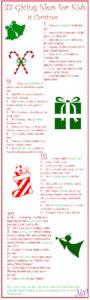 33 Ways ~ Christmas Giving for Kids