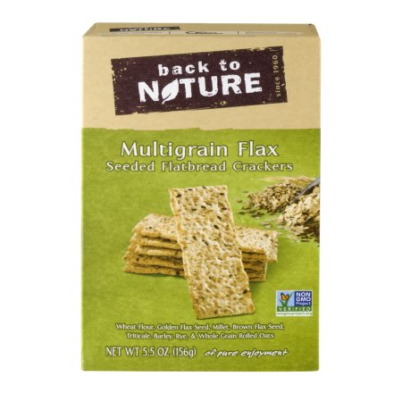 Back to Nature Crackers Multigrain Flax
