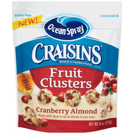 Craisins Fruit Clusters Cranberry Almond Dried Cranberries combine crunchy almonds with sweet