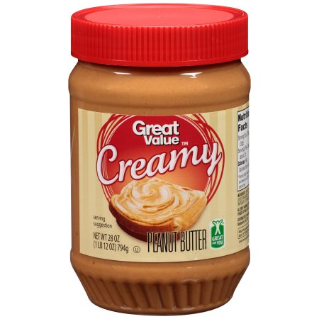 great value creamy peanut butter