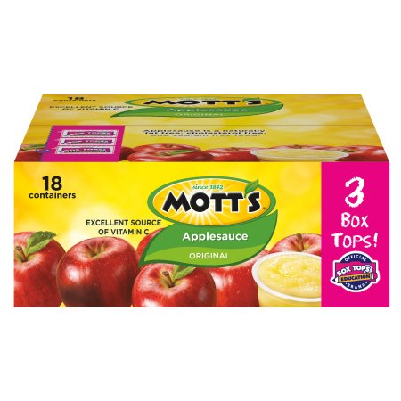 motts original applesauce