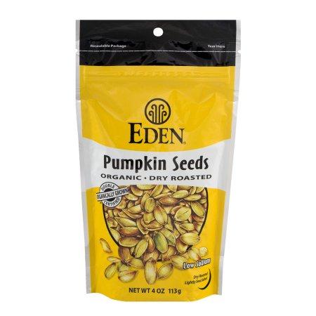 Eden Pumpkin Seeds Organic Dry Roasted