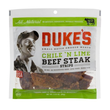 Duke's Chile 'N Lime Beef Steak Strips