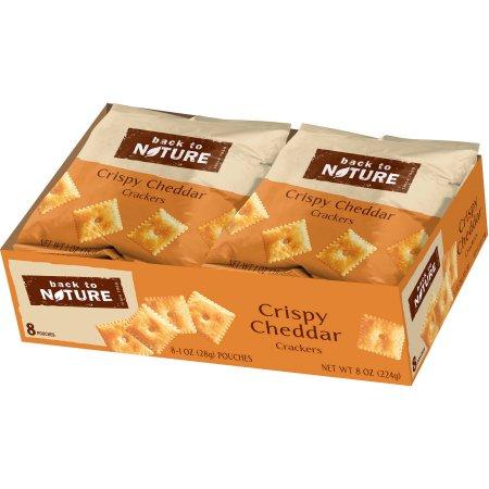 Back to Nature Grab & Go Crispy Cheddar Crackers