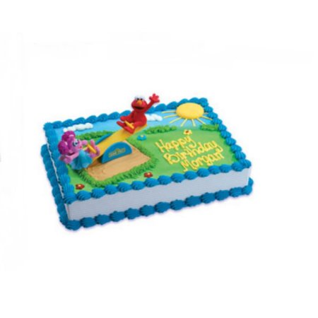 Terrific Wal Mart Bakery Sesame Street Elmo And Abby Cadabby Cake Decoset Funny Birthday Cards Online Aeocydamsfinfo