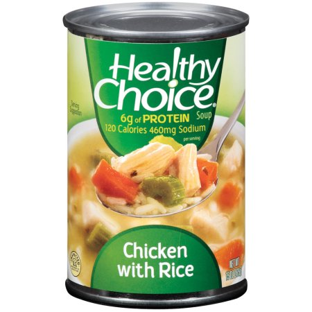 Healthy Choice Chicken W/Rice Soup 15 Oz Can