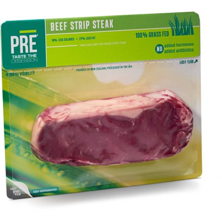 Pre Beef Grass-fed Beef New York Strip Steak