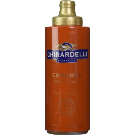 Ghirardelli Caramel Flavored Sauce Squeeze Bottle