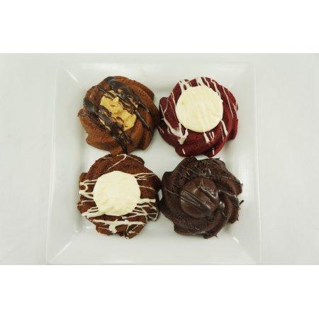 German Chocolate Mini Bundt Cakes