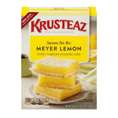 Krusteaz Supreme Bar Mix Meyer Lemon
