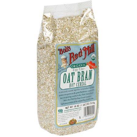 Bob's Red Mill Organic Oat Bran High Fiber Hot Cereal