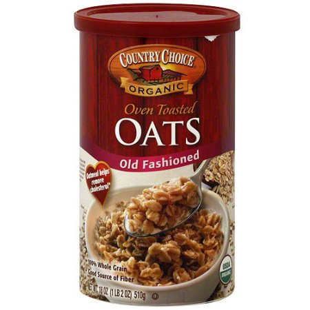 Country Choice Organic Old Fashioned Oven Toasted Oats