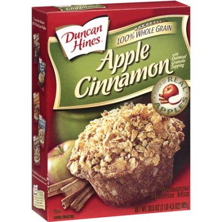 Duncan Hines Apple Cinnamon Premium Muffin Mix