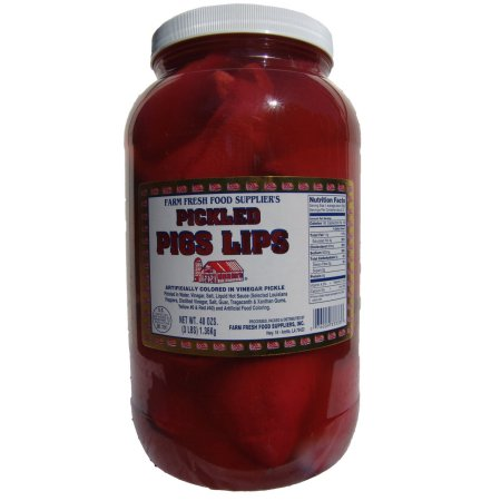 Farm Freesh Food Farm Fresh Pickled Pig Lips 1gal