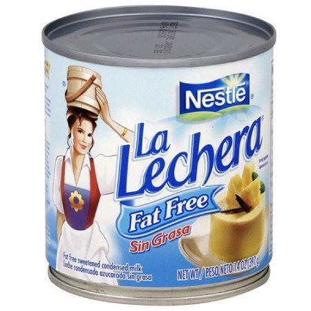 La Lechera Fat Free Sweetened Condensed Milk