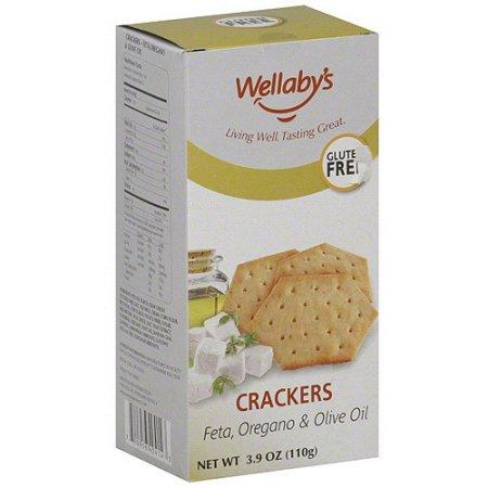 Wellaby's Feta Oregano & Olive Oil Crackers