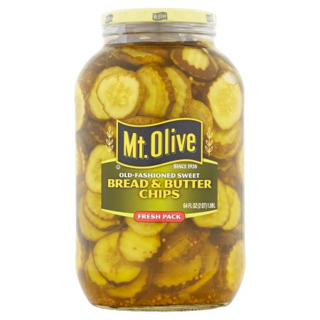 Mt. Olive Bread & Butter Old Fashioned Sweet Pickles