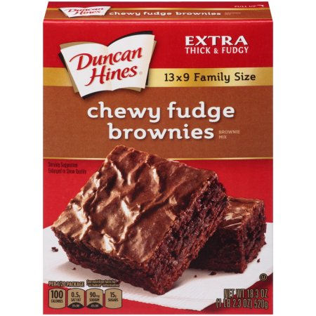 Make Brownies From Duncan Hines Cake Mix