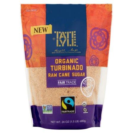 Tate & Lyle Organic Turbinado Raw Cane Sugar