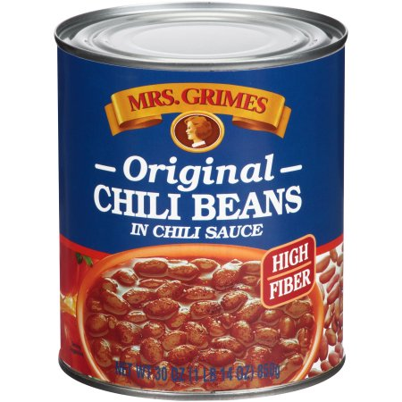... Grimes Original Chili Beans in Chili Sauce 30 oz. Can ~ Moms Priority