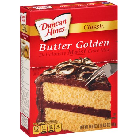 Duncan Hines Butter Golden Cake Mix Reviews