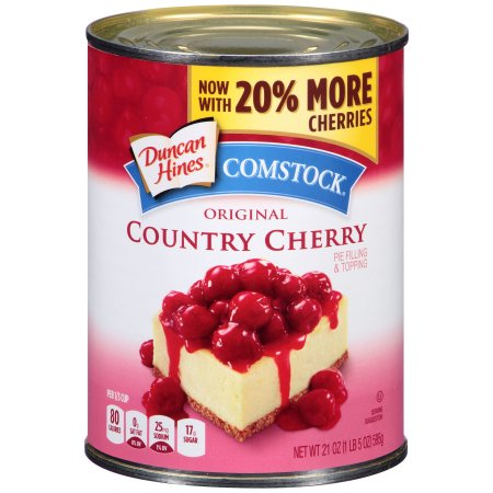 Comstock Original Country Cherry Pie Filling Or Topping