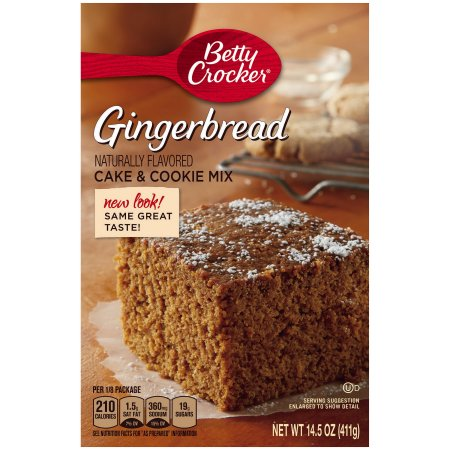 Betty Crocker Cake & Cookie Mix Gingerbread