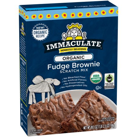 Immaculateâ ¢ Baking Scratch Baking Mix Brownie 18.3 oz Box