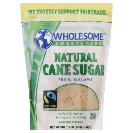 Wholesome Sweeteners Fair Trade Natural Cane Sugar from Malawi