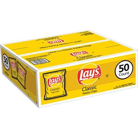 Lay's Classic Potato Chips - 50 PK