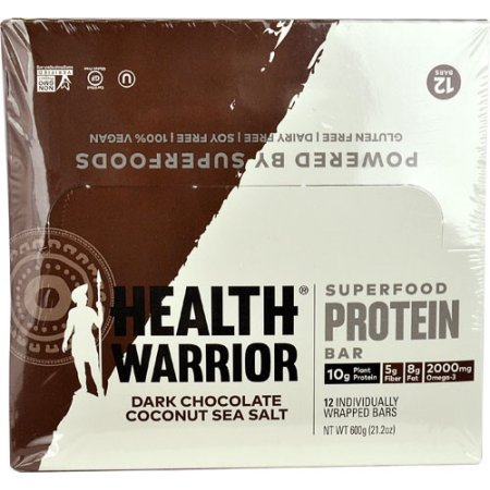 Health Warrior Chia Bars Coconut - 15 CT