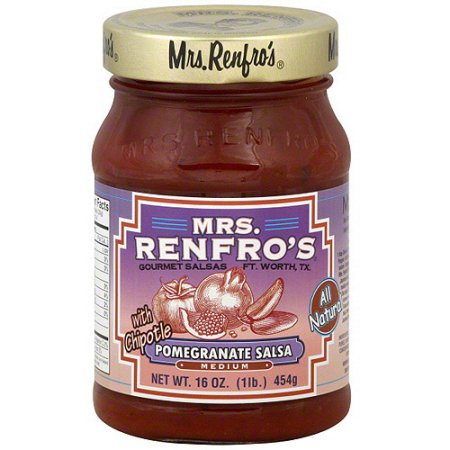 Mrs. Renfro's Pomegranate Chipotle Salsa