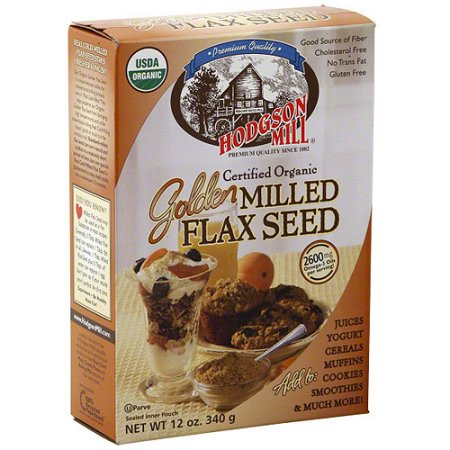 Hodgson Mill Organic Golden Milled Flax Seed