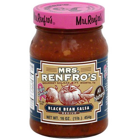 Mrs. Renfro's Black Bean Medium Salsa
