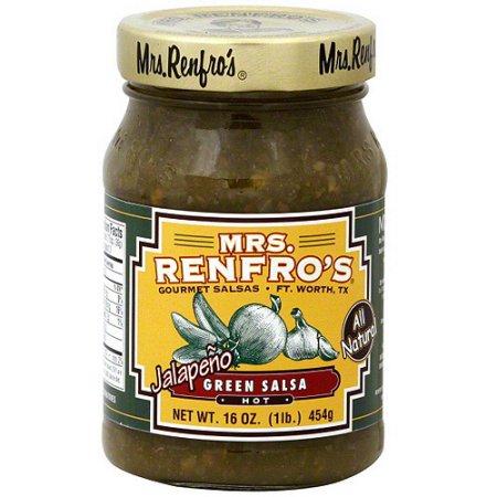 Mrs. Renfro's Hot Jalapeno Green Salsa