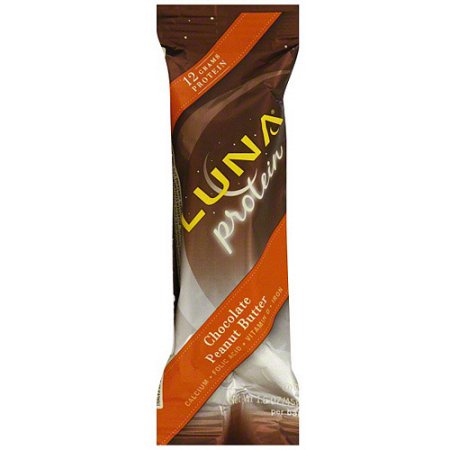 LUNA Chocolate Peanut Butter Protein Bars