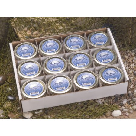 Copper River Seafoods Smoked Coho (silver) Salmon - 12 - 6.5 oz Jars