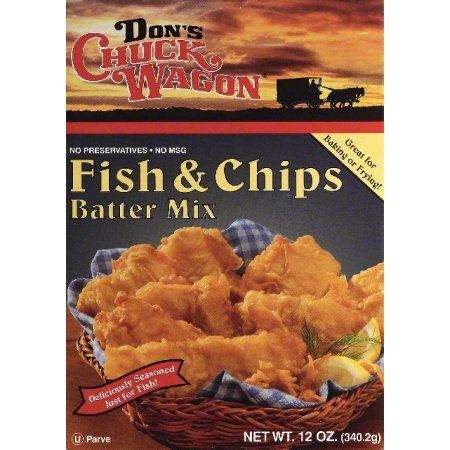 DONS CHUCK WAGON MIX BATTER FISH & CHIP ~ Moms Priority