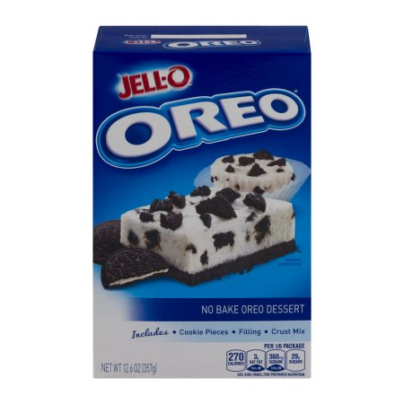 Jell-O No Bake Dessert Mix Oreo