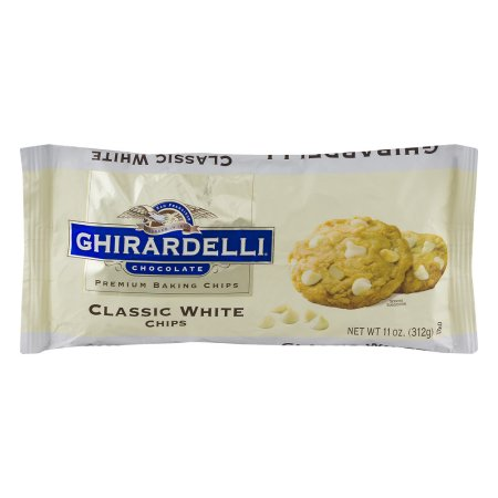 Ghirardelli Chocolate Premium Baking Chips Classic White