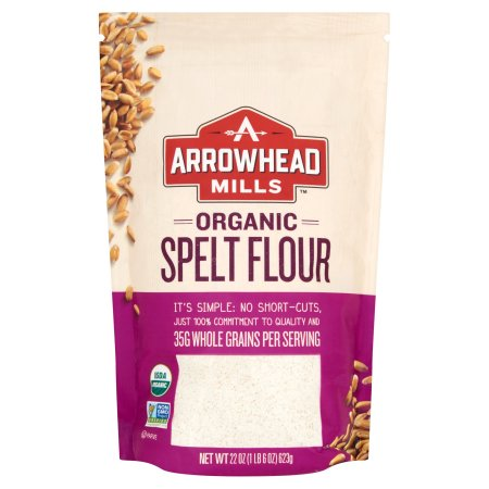 Arrowhead Mills, Flour Whole Spelt Org, 22 Oz (Pack Of 6
